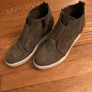 27747c2d2b9 Journee Collection Shoes - Journee Clara Wedge Sneaker